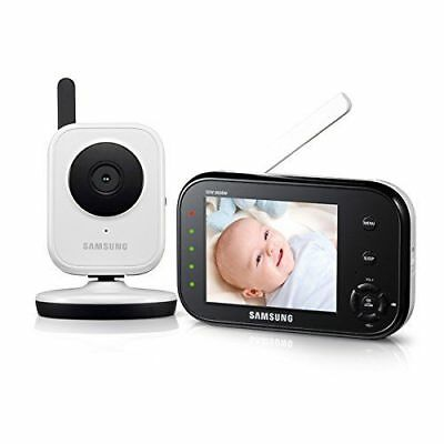 - Samsung SEW-3036W BabyVIEW Baby Monitoring System IR Night Vision Zoom 3.5in