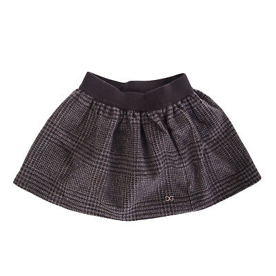 DOLCE & GABBANA Cashmere Gathered Skirt Size 3-6M / 62-68CM Made in Italy
