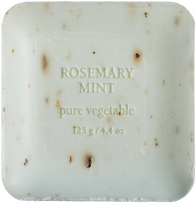 PRE de PROVENCE Gardener Soap ROSEMARY MINT Shea&Cocoa Butter Enrich QuadMilled
