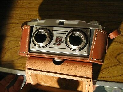 TDC Stereo Colorist 3D Stereo Camera With Case - Untested