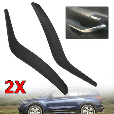 For BMW X1 E84 51412991776 Black Side Inner Door Panel Handle Pull Trim Cover