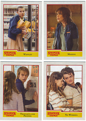 2018 Topps Stranger Things Trading Cards Complete Base Set (100 Cards) 1-100