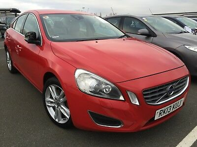 2013 Volvo S60 2.4 D5 215 Se Lux S/s Manual - 8 Main Stamps, Leather, Fabulous!!