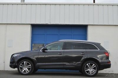 2015 Audi Q7 3.0T Premium Repairable Rebuildable Salvage Lot Drives Great Project Builder Fixer Easy Fix