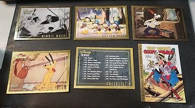 1995 SkyBox Disney Premium - Lot of 6 Gold Foil Cards