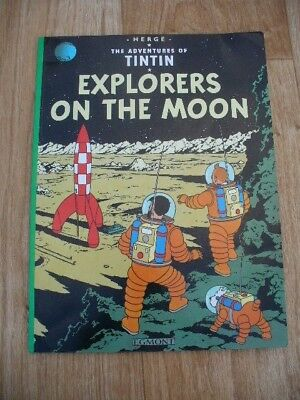 Herge - The Adventures Of Tintin: Explorers on the Moon (Paperback 2010) VGC