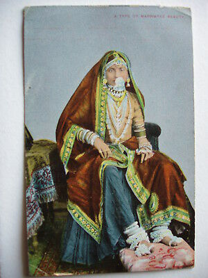 A Type of Marwaree Beauty - 1908