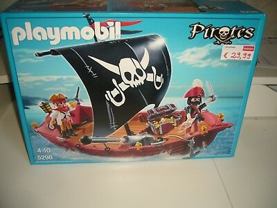 Playmobil 5298 Totenkopfsegler Piratenschiff Pirates, Schiff Piraten NEU OVP