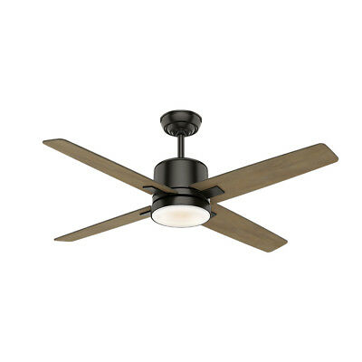 """Casablanca 59341 Axial 52"""" 4-Blade Integrated LED Ceiling Fan with Remote Contro"""