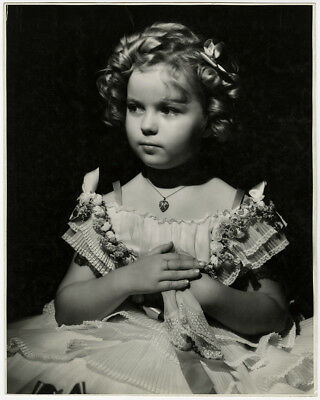Shirley Temple George Hurrell Large Vintage The Littlest Rebel Photograph 1935