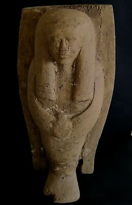 Great Pharaonic Wooden Statue.