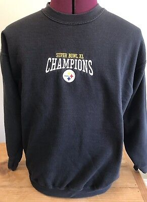 Pittsburgh Steelers Men's Size Large Sweatshirt Super Bowl Champions 2006