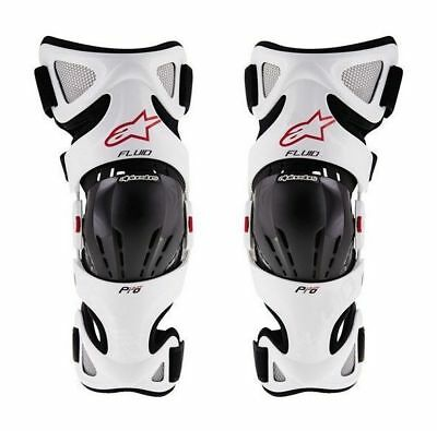 ALPINESTARS MX FLUID PRO Knee Braces Shin Guards Protectors Sizes: S/M/L  XL/2X