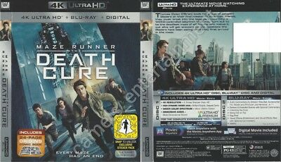 Maze Runner: The Death Cure (SLIPCOVER ONLY for 4K Ultra HD)