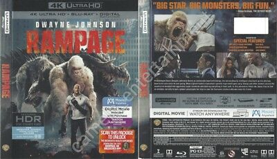 Rampage (SLIPCOVER ONLY for 4K Ultra HD)