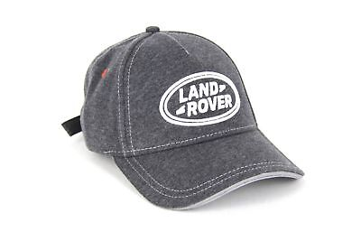 Land Rover Embroidered Trademark Logo Golf Baseball Grey Cap Hat One Size