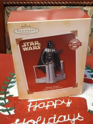 Hallmark Keepsake Ornament Star Wars Empire Strikes Back Darth Vader-2005-NIB