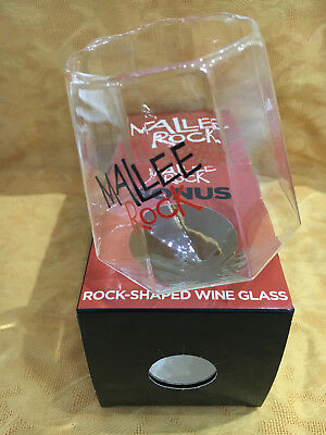Mallee Rock Wobble Rock Shaped Wine glass