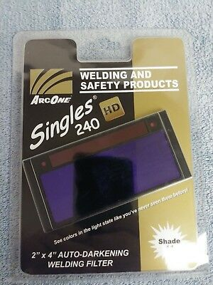 "ArcOne Singles 240 HD Shade 11 S240-11 2"" x 4-1/2"" Retro Fit Filter Arc One"