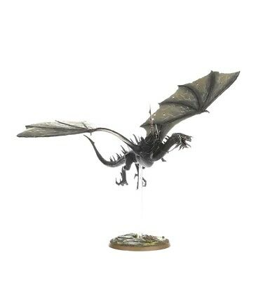 Games workshop Lotr plastic Witch King of Angmar or nazgul on Fell beast
