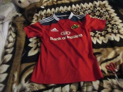 munster medium red  rugby  shirt