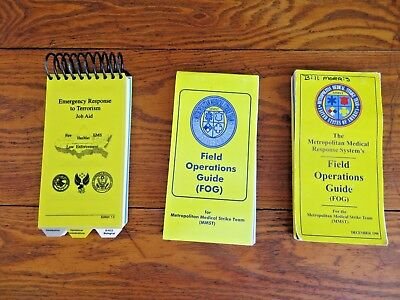 2 - Metropolitan Medical Response Systems's Field Operations Guide, + Job Aid