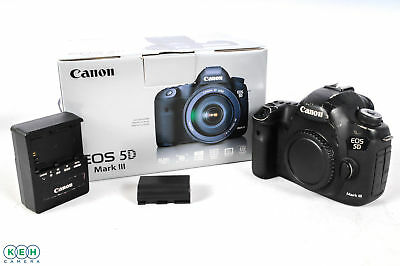 Canon EOS 5D Mark III Digital SLR Camera Body {22.3 M/P} (Shutter Count: 37,091)