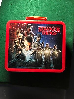 STRANGER THINGS  LUNCH BOX Just in time for Christmas