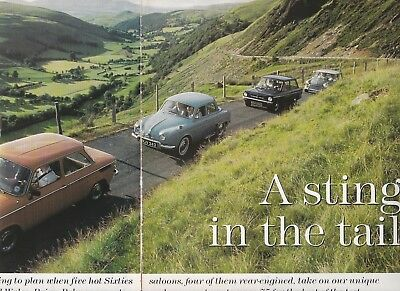 6 LOT Magazine Articles With Austin-Morris MINI & Other Small Cars, Comparisons