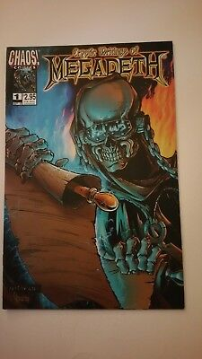 Cryptic Writings of Megadeth #1 CHAOS! Comics
