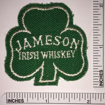 1 Rare Vintage Jameson Irish Whiskey Patch Emblem Distillery Clover Leaf Patch