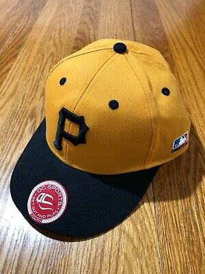 Pittsburgh Pirates Youth Hat OC MLB Sports Cooperstown Collection Adjustable