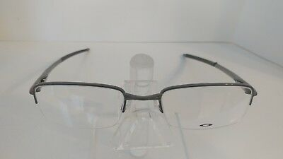 8210864d0f Authentic Oakley RHINOCHASER OX3111-0152 Cement Half-Rim Eyeglasses  52 19 143