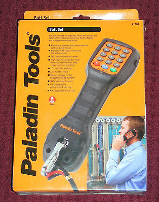 PALADIN TOOLS #1780 Portable Butt Set Device Tester In Box