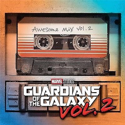 Soundtrack, Guardians Of The Galaxy Vol. 2 - Awesome Mix Vol. 2, CD