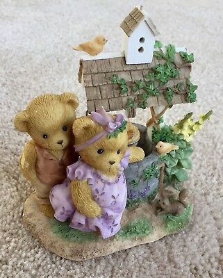 """Cherished Teddies """"DONNA"""" & """"PHIL"""" 2007 Signing Event Exclusive LE, MIB"""