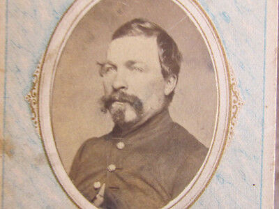 possible 2nd Iowa Infantry soldier in Pulaski Tennessee cdv photograph
