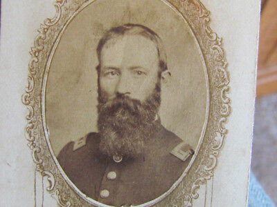 2nd Iowa Infantry & 54th Colored Troop Inf. surgeon autographed cdv photograph