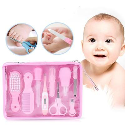 Baby grooming care set pink