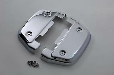 chrome touring softail passenger footboard floorboard cover covers for harley