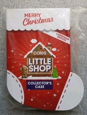 Coles Little Shop  FULL SET of 5 minis  in Limited Edition Christmas folder