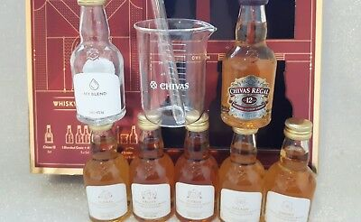 Whisky Set Chivas  Glass Miniature
