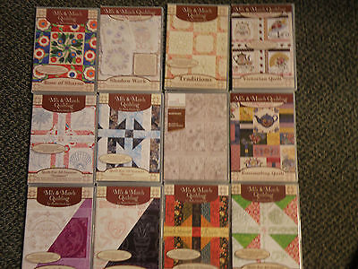 Anita Goodesign Quilting Collection- Titles N-Z  Your choice of one collection