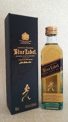 Whisky Johnnie Walker Blue Label Glass Miniature