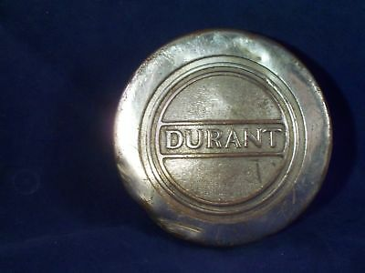 Vintage 1920s Durant Motor Car Co. Hubcap Grease Cap Dust Cover Wheel Center