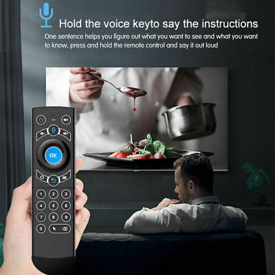 Wireless Keyboard Fly Air Mouse Remote Control for Android TV Box Smart TV PC I8