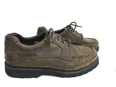 ROCKPORT Waterproof Suede Leather Sz 11.5 W Shoes Brown 503002 Leather Uppers