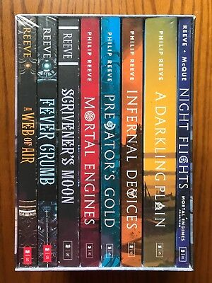 Mortal Engines Collection Philip Reeve 8 Books Box Set Pack Exp shipping option