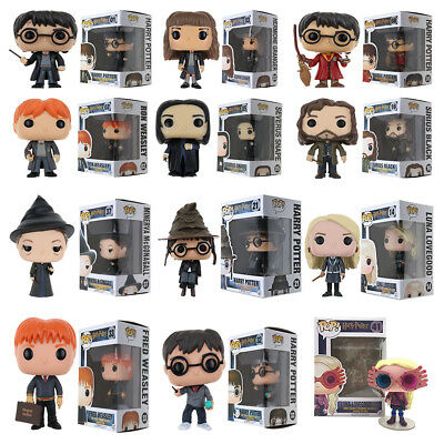 Funko Pop Harry Potter Hermione Snape Luna Lovegood With Glasses #41 Figure Toys