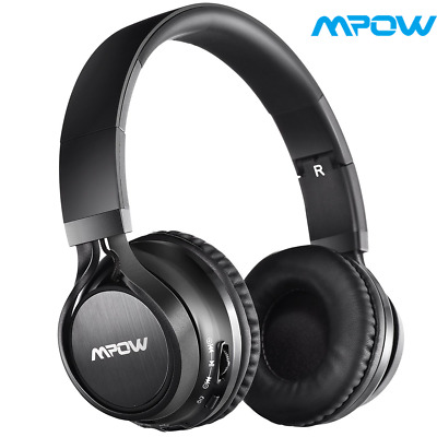 Mpow Wireless Bluetooth Foldable Stereo Headset Headphone Noise Cancellig W/ MIC